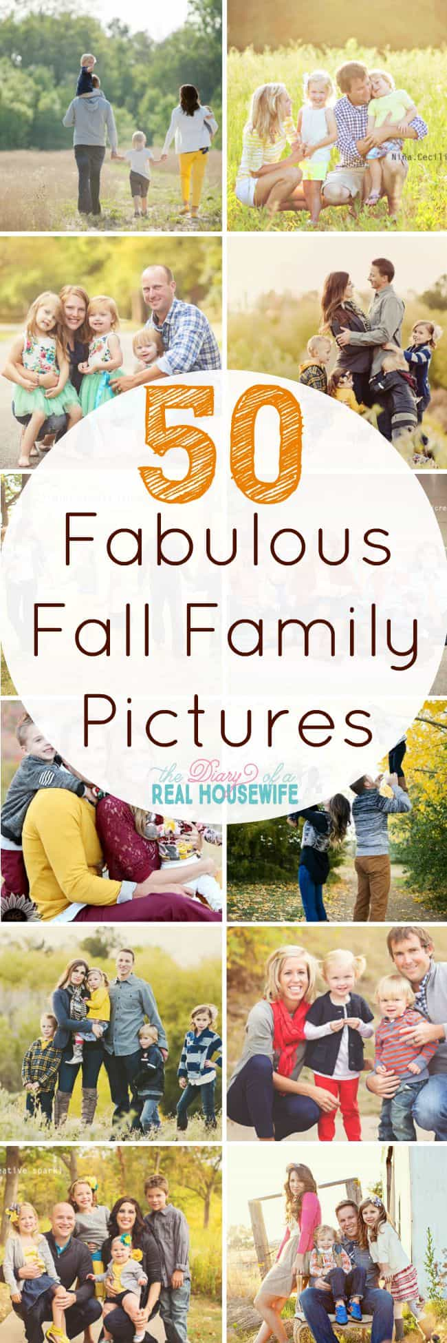 Fabulous Fall Family Picture Ideas.