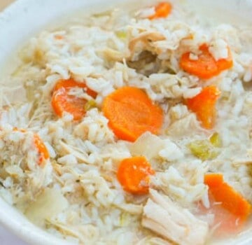 Crock-Pot Chicken and Rice Soup