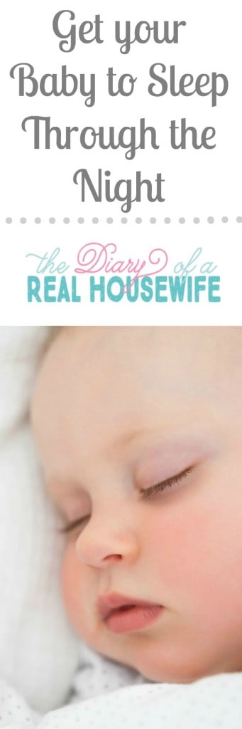 Your baby can sleep through the night! Read more tips here!