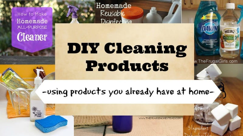 DIY Cleaning Products
