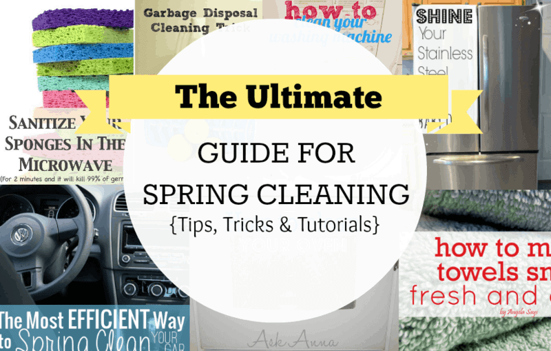 Spring Cleaning – The Ultimate Guide