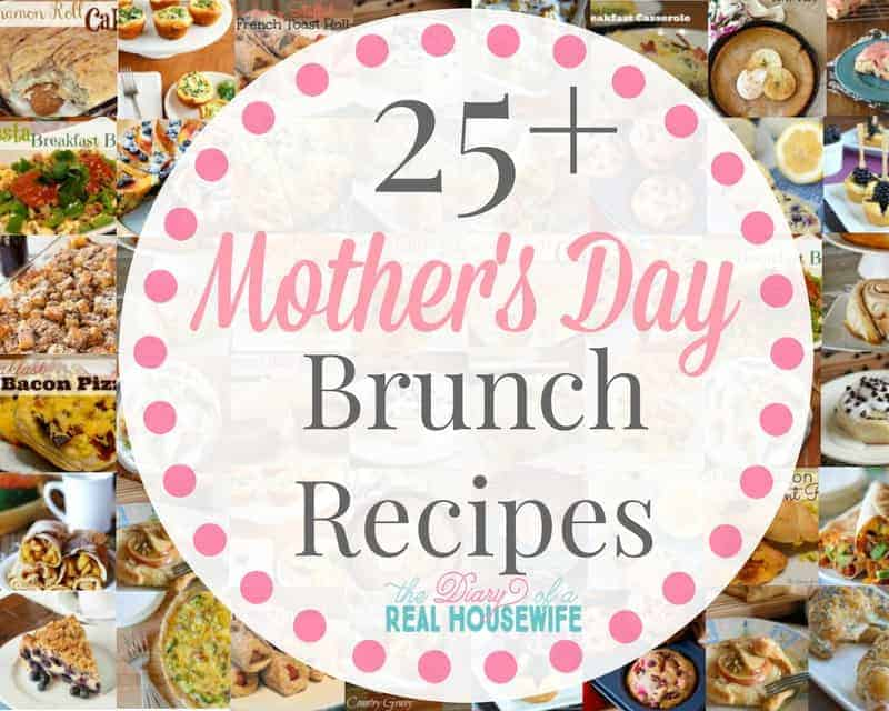 25 Mother's day Brunch Ideas