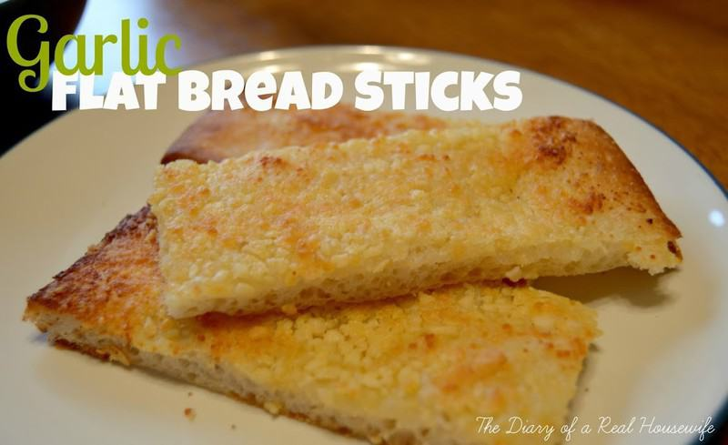 Garlic Flat Bread Sticks
