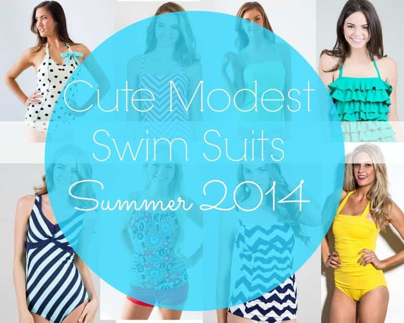 Cute Modest Swimsuits – Summer 2014