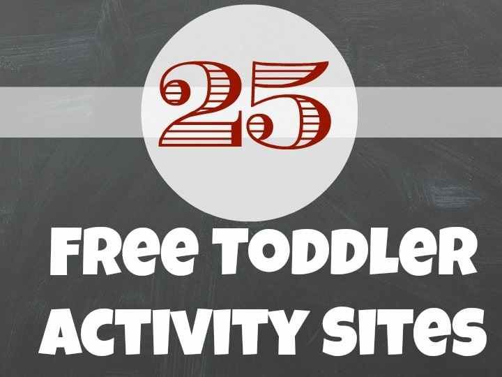 Free Toddler Activity Sites