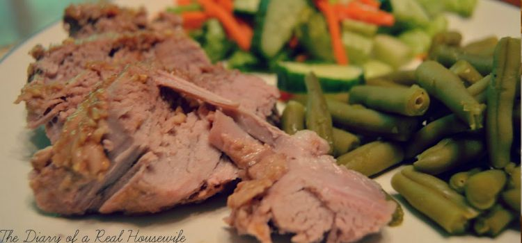 Balsamic and Brown Sugar Pork Tenderloin