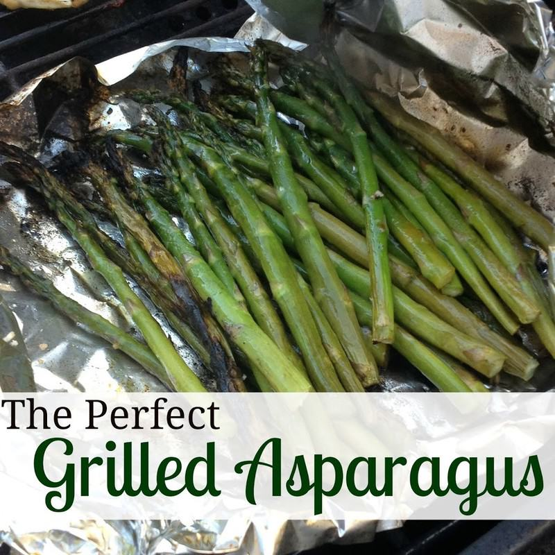 The Perfect Grilled Asparagus