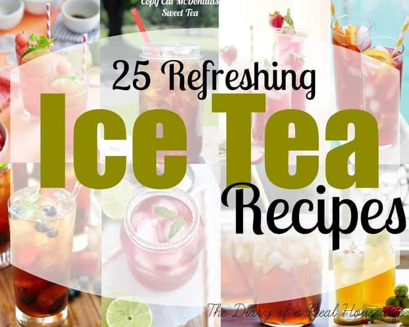 25 Refreshing Ice Tea Recipes