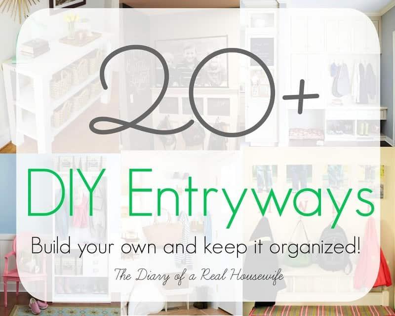 20+ DIY Entryways