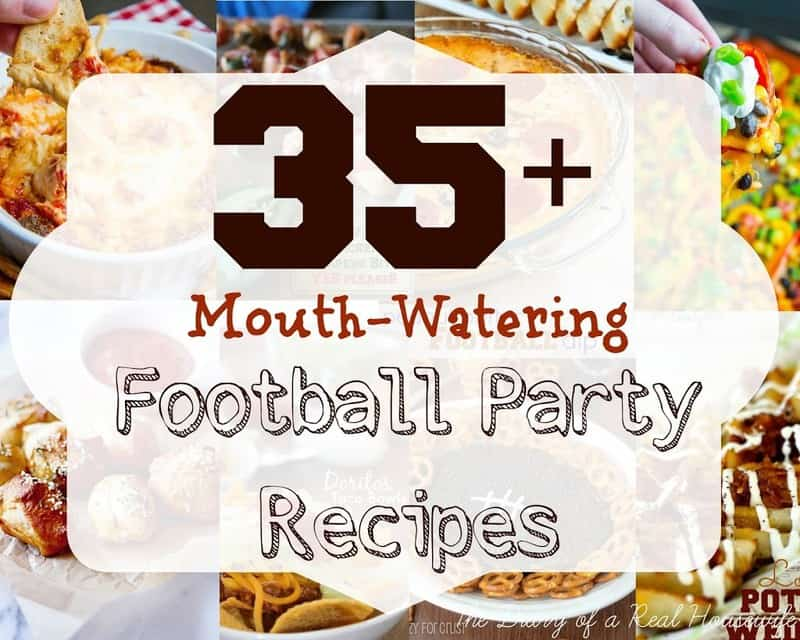35+ Football Party Recipes