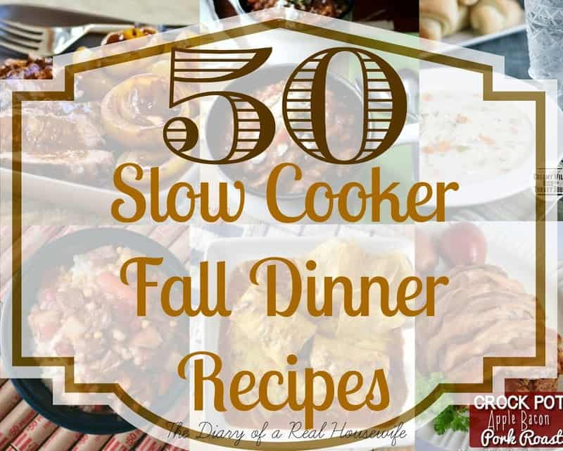 50 Slow Cooker Fall Dinner Recipes