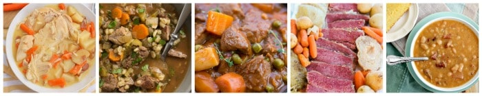 Slow Cooker Fall Recipes Group Photo 1