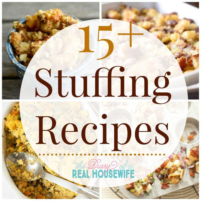 Awesome stuffing recipes! Can I just make one of each for Thanksgiving this year!