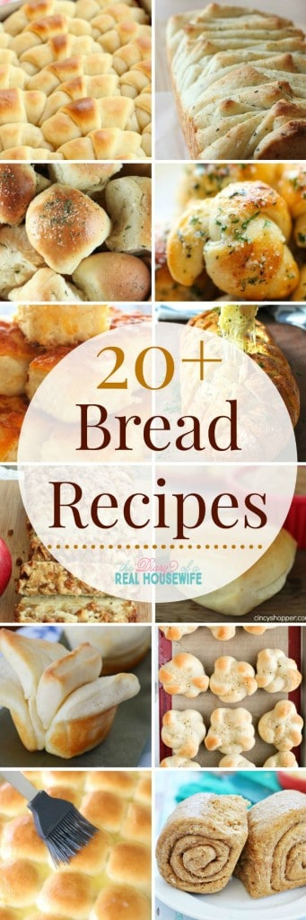 Bread recipes! I love having rolls and bread on our holiday dinner menu!