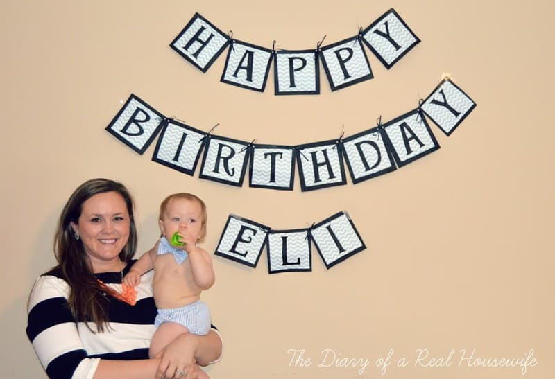 Little Man Themed First Birthday