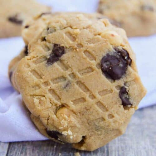 The BEST Peanut Butter Chocolate Chip Cookie