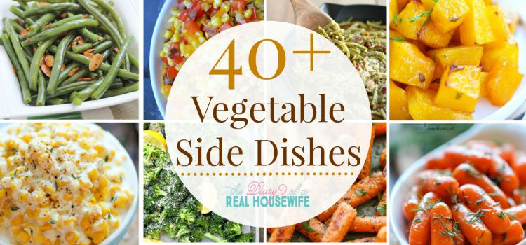Side Dish Recipes: Vegetables