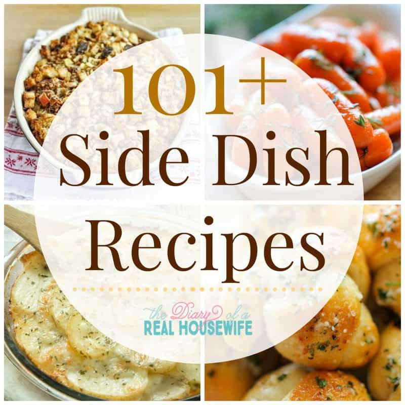 101 Side Dish recipes collage