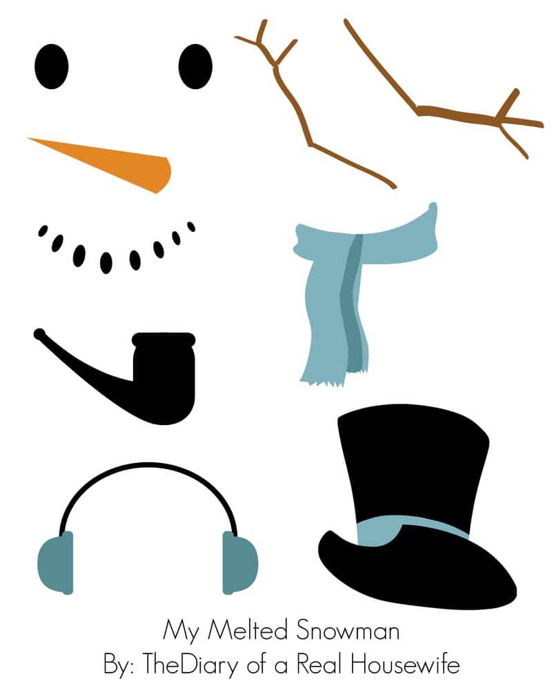 melted snowman craft the diary of a real housewife melting snowman clipart free melting snowman clipart free