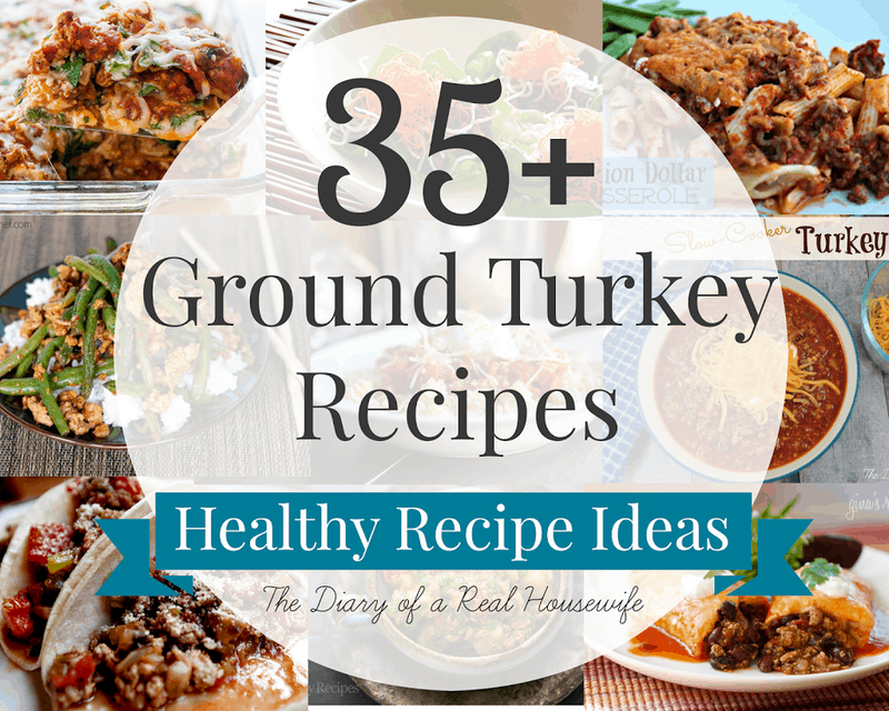35 Ground Turkey Recipes