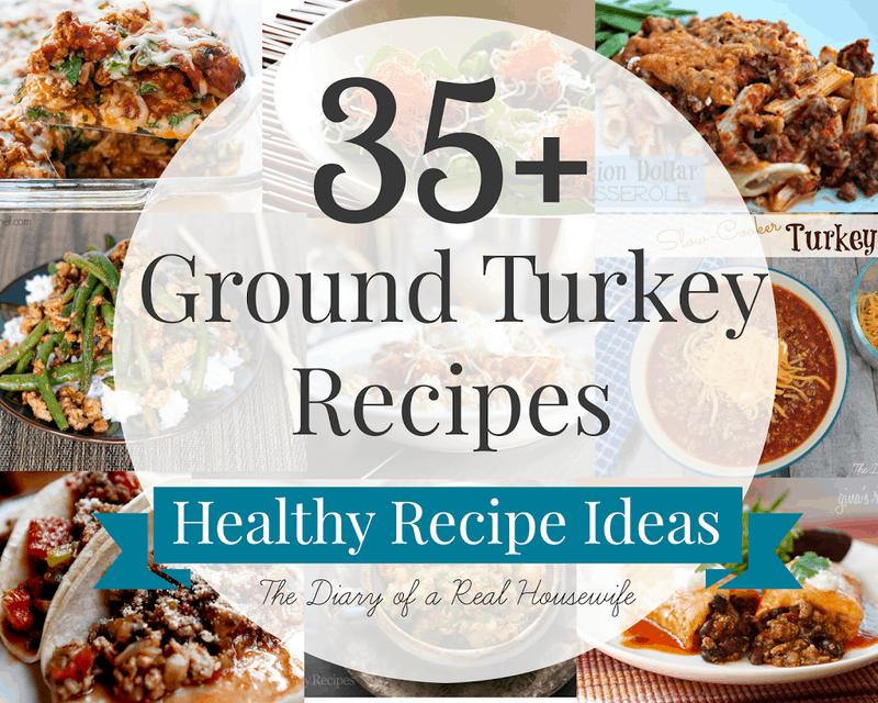 35 Ground Turkey Recipes