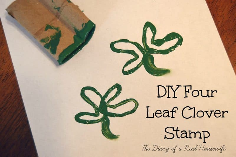 DIY Four Leaf Clover Stamp
