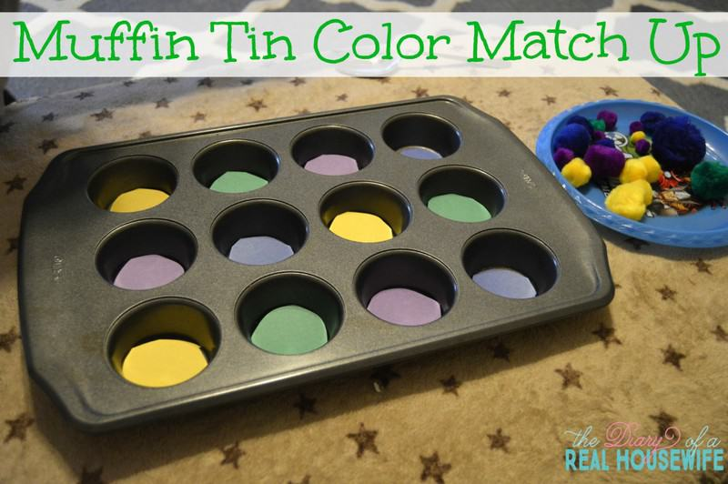 Muffin Tin Color Match Up