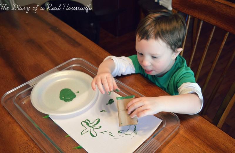 Saint Patrick's Day Craft Kids