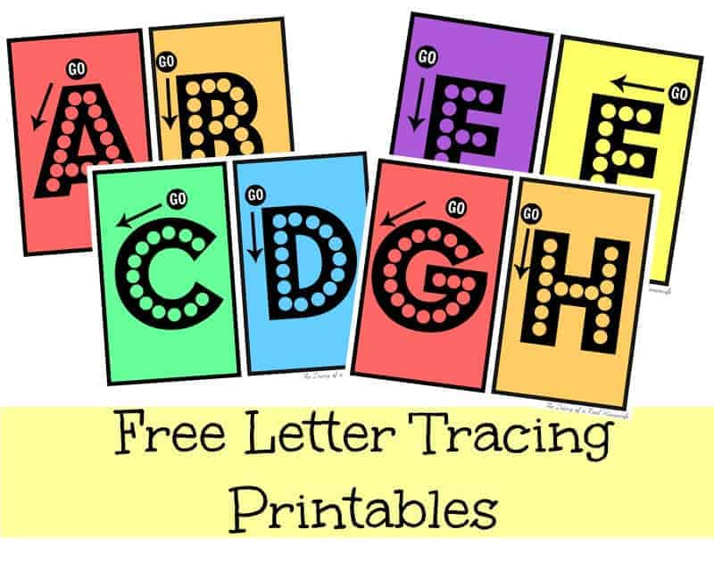 Free Letter Tracing Printable