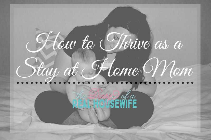 How To Thrive As A Stay At Home Mom And Be Happy!