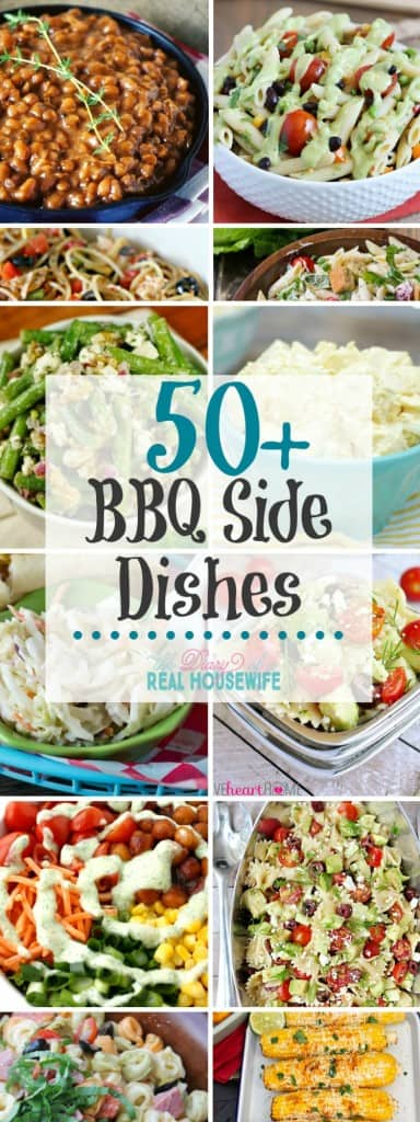 Over 50 awesome summer BBQ side dishes to take to your next event!