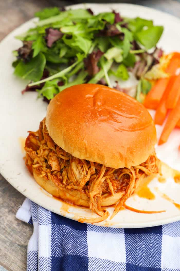 Slow Cooker Dr. Pepper BBQ Chicken