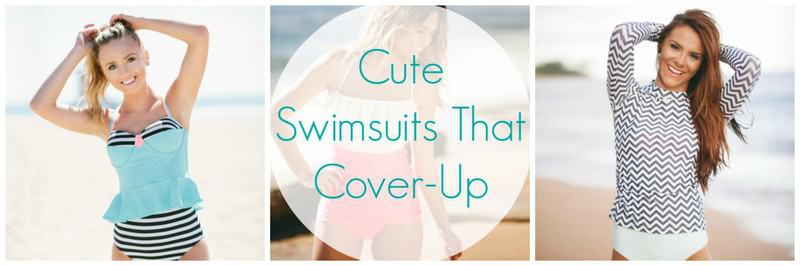 Cute Swimsuits that Cover-Up – Summer 2015
