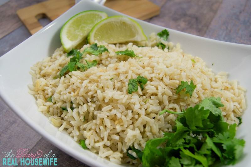 A great side dish recipe for any meal! Cilantro brown rice