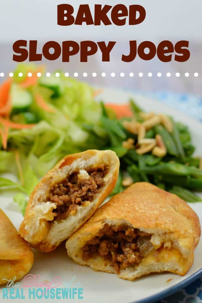 Baked Sloppy Joes! This is such an easy dinner that my family just loved!