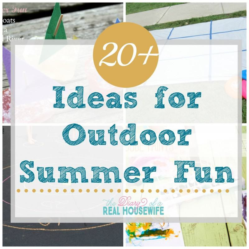 Summer Activities for Kids – Outside!