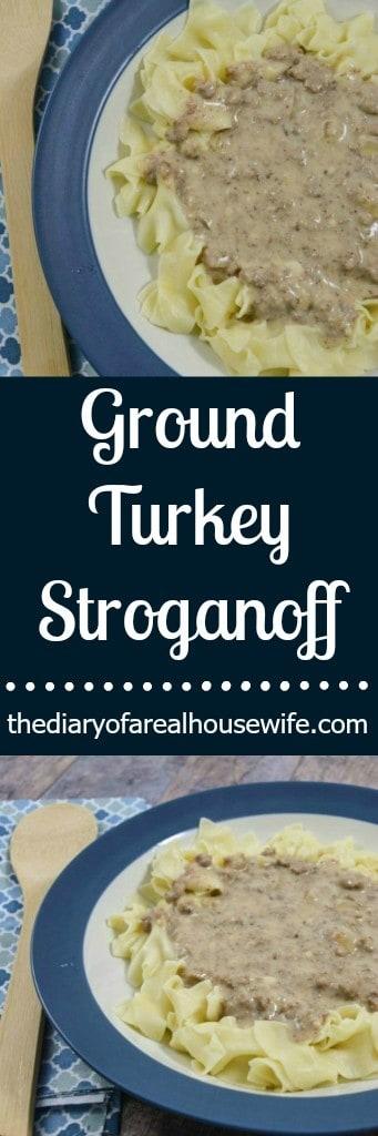 Ground Turkey Stroganoff