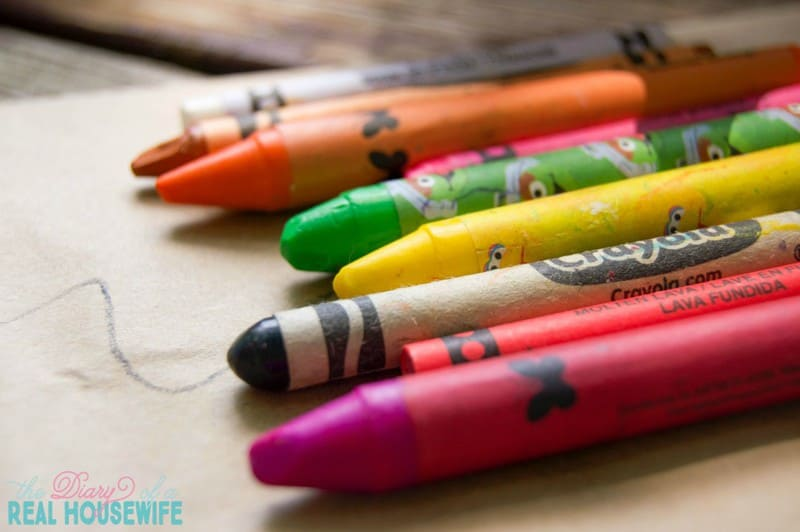 Crayons for craft