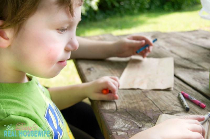 Kids Craft - Paper Bag Kite