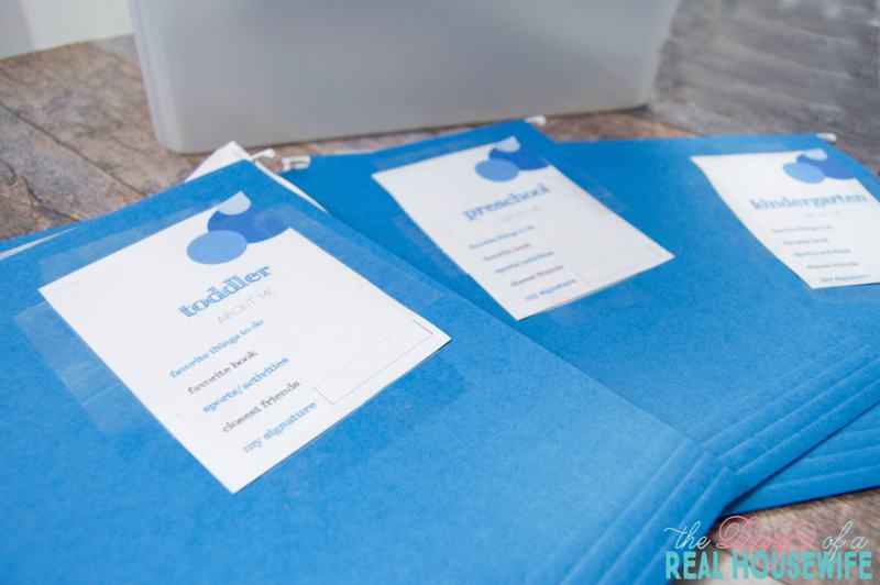 Organize all your school paper work in one easy system