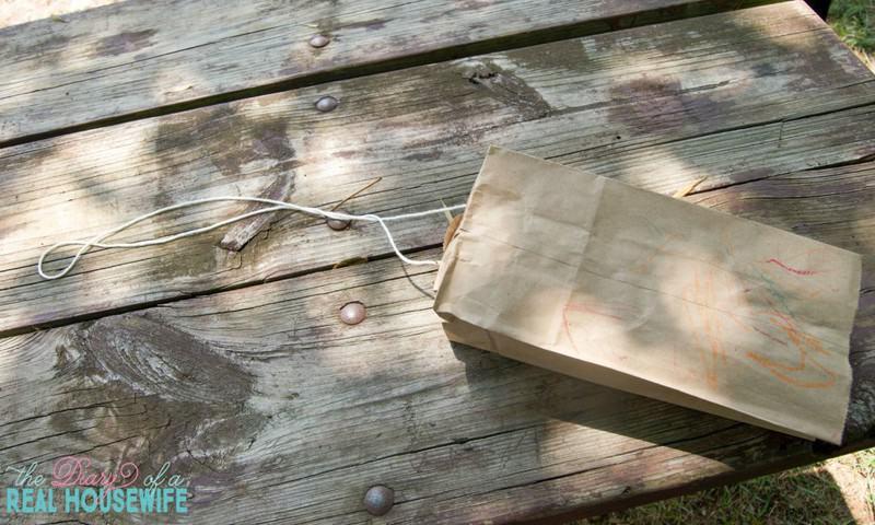 Paper Bag Kite Crafts for Kids