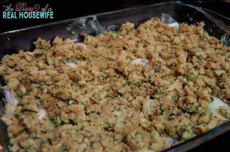 Chicken Cordon Bleu Casserole - The Diary of a Real Housewife