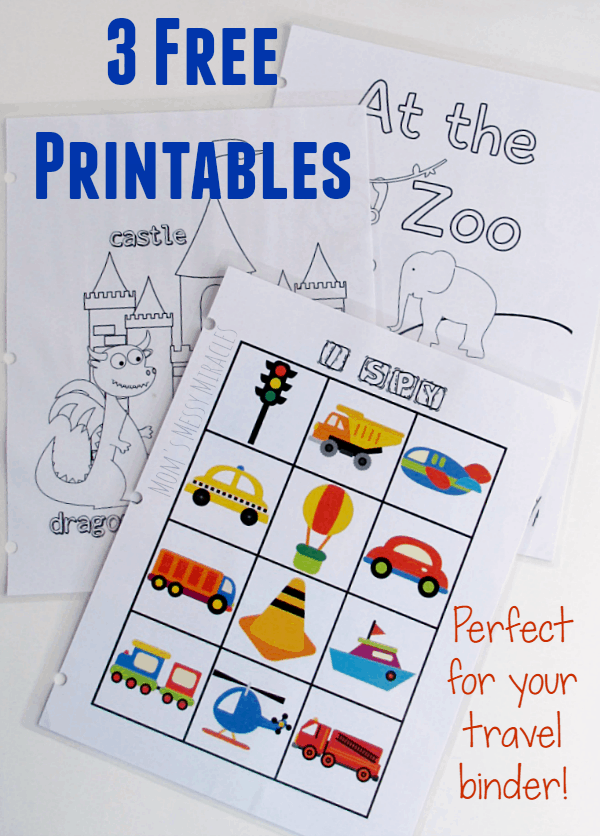 3-Free-Travel-Binder-Printables