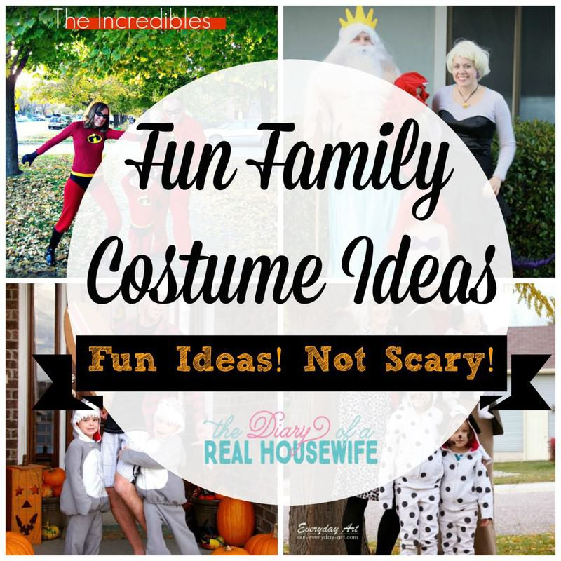 Fun Family Costume Ideas! Fun Ideas! Nothing scary