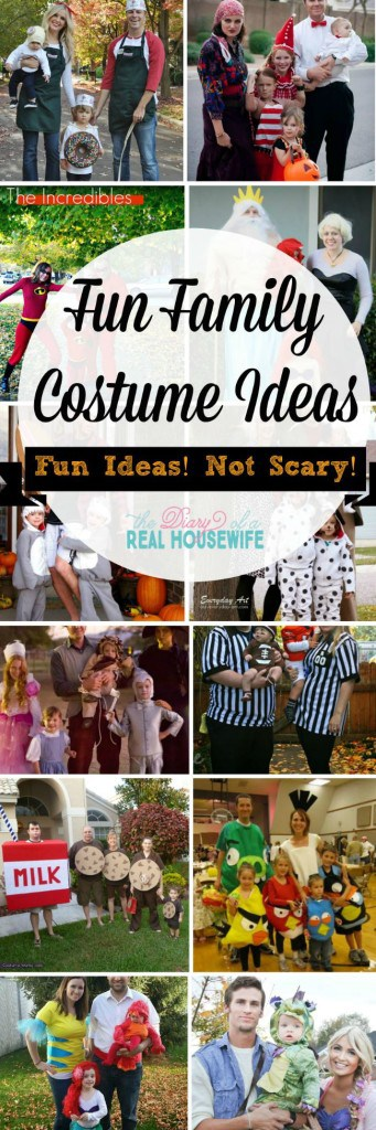 I love these fun Costume Ideas! Nothing scary at all just really cute ideas