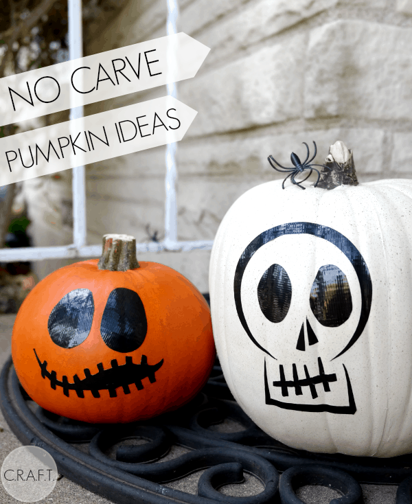 No-carve-pumpkin