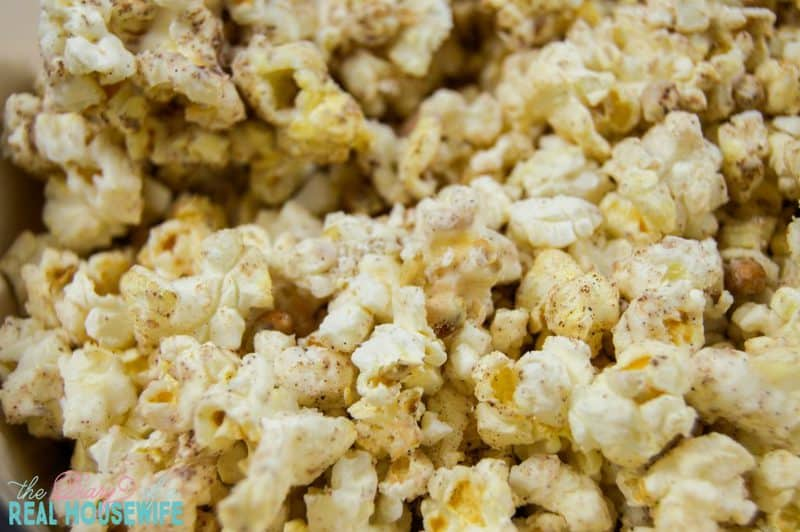 A great snack. Pumpkin Spice Popcorn. You are going to want to try this.