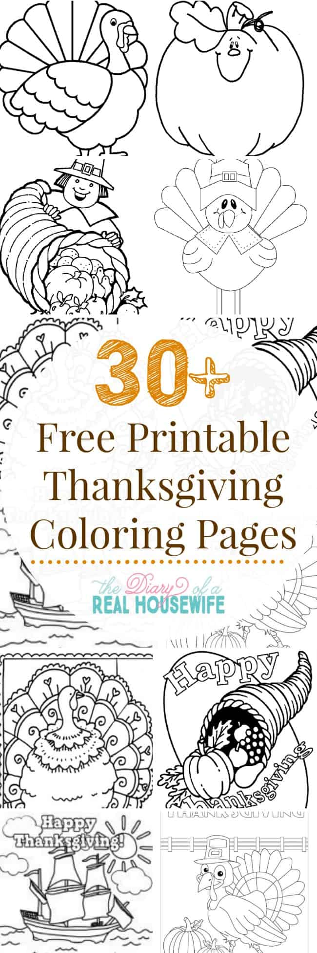 Thanksgiving coloring pages the diary of a real housewife for Fun thanksgiving coloring pages