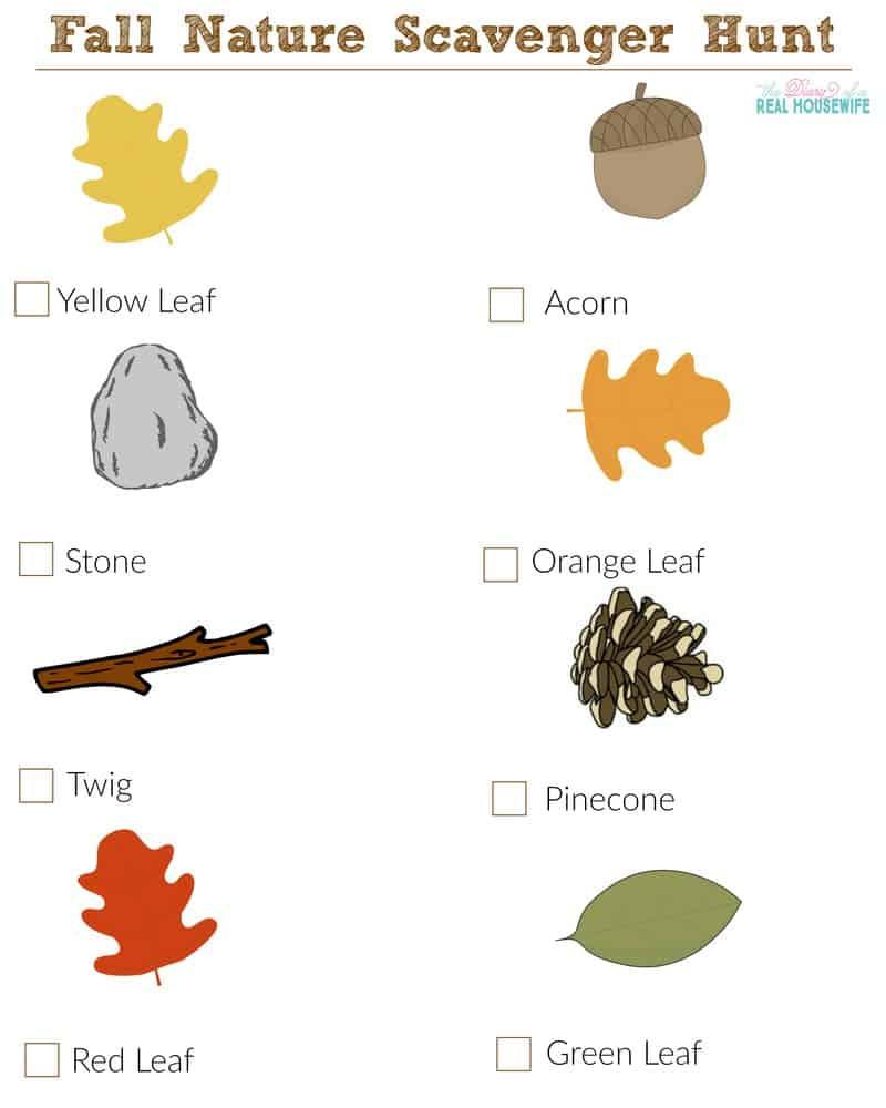 Fall Backyard Scavenger Hunt : Fall Scavenger Hunt Related Keywords & Suggestions  Fall Scavenger