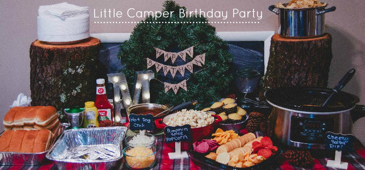 Little Camper Birthday Party